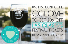 Las Olas Wine and Food Festival 2016 Promo Code