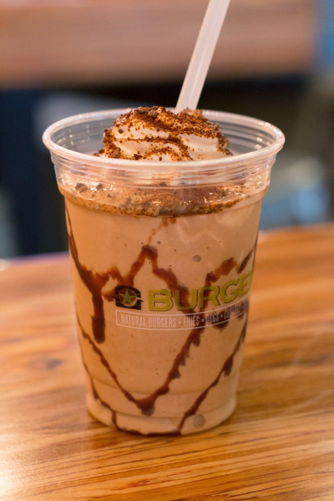 Burger Fi Coral Gables Coffee Milkshake