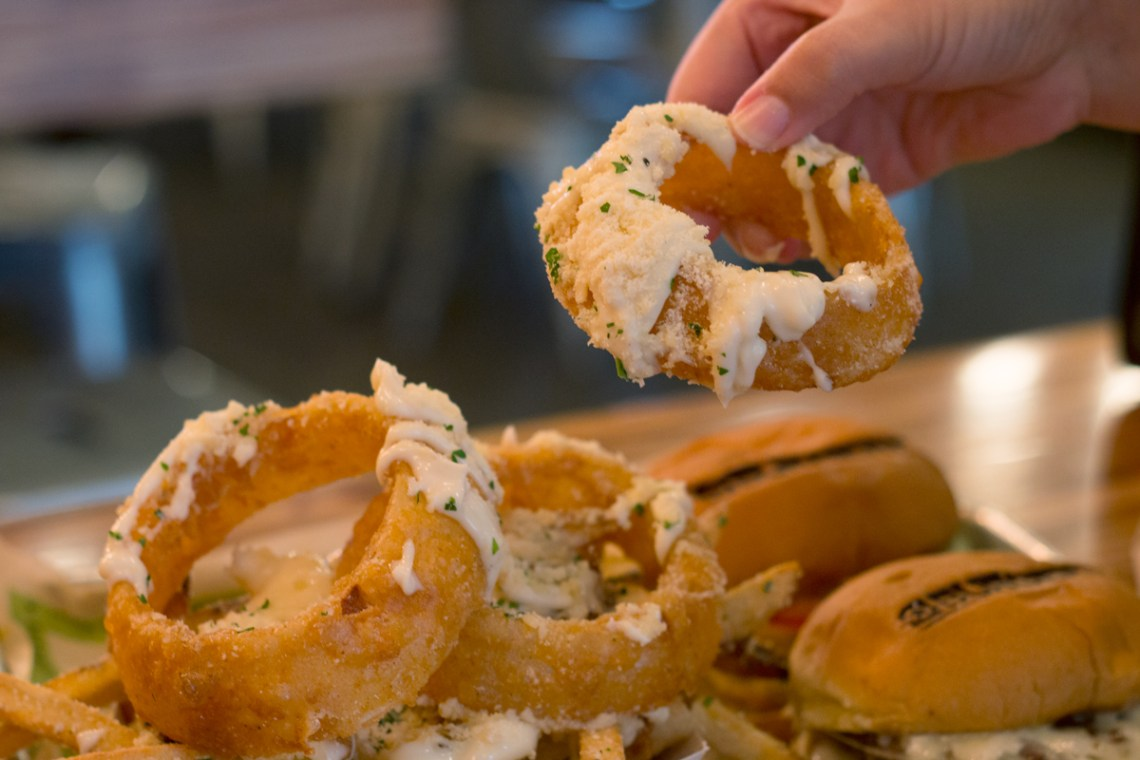 Burger Fi Coral Gables Onion Rings