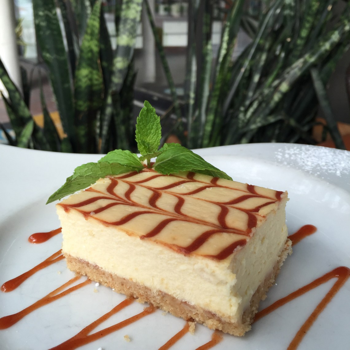 Talavera Coral Gables Guava Cheesecake