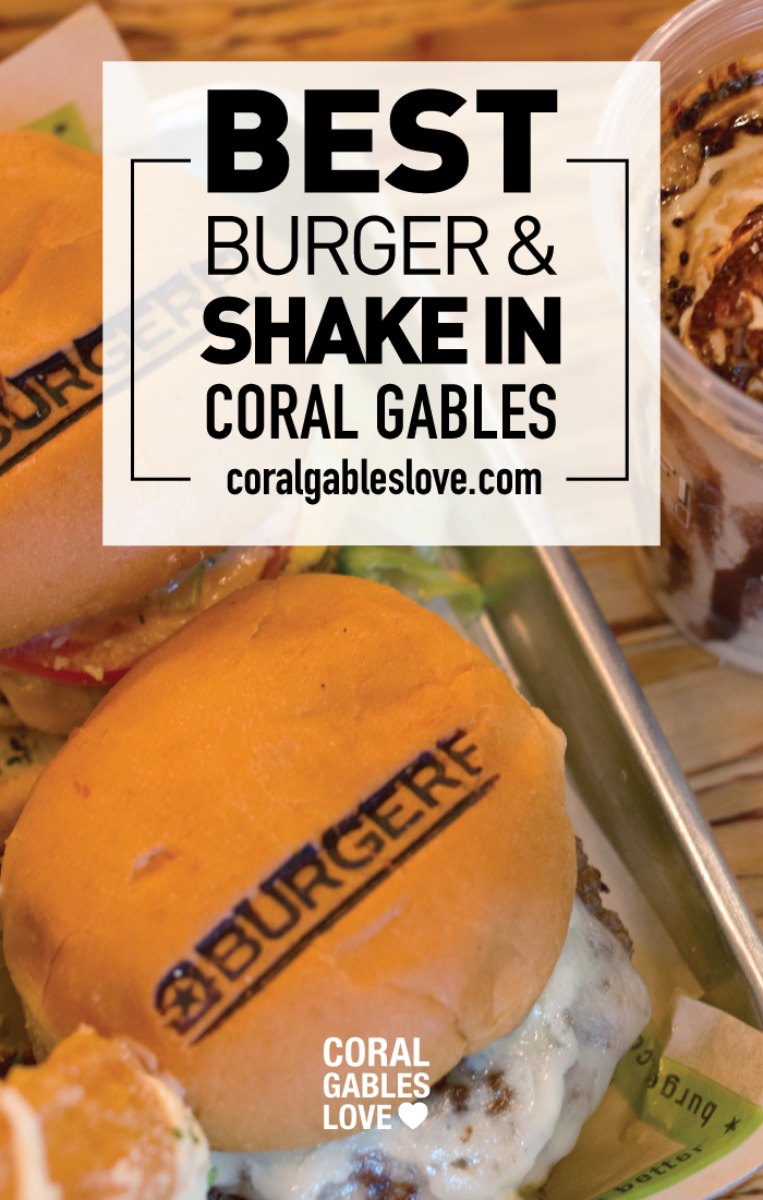 Best burger and shakes in Coral Gables, Florida. Eating in Miami