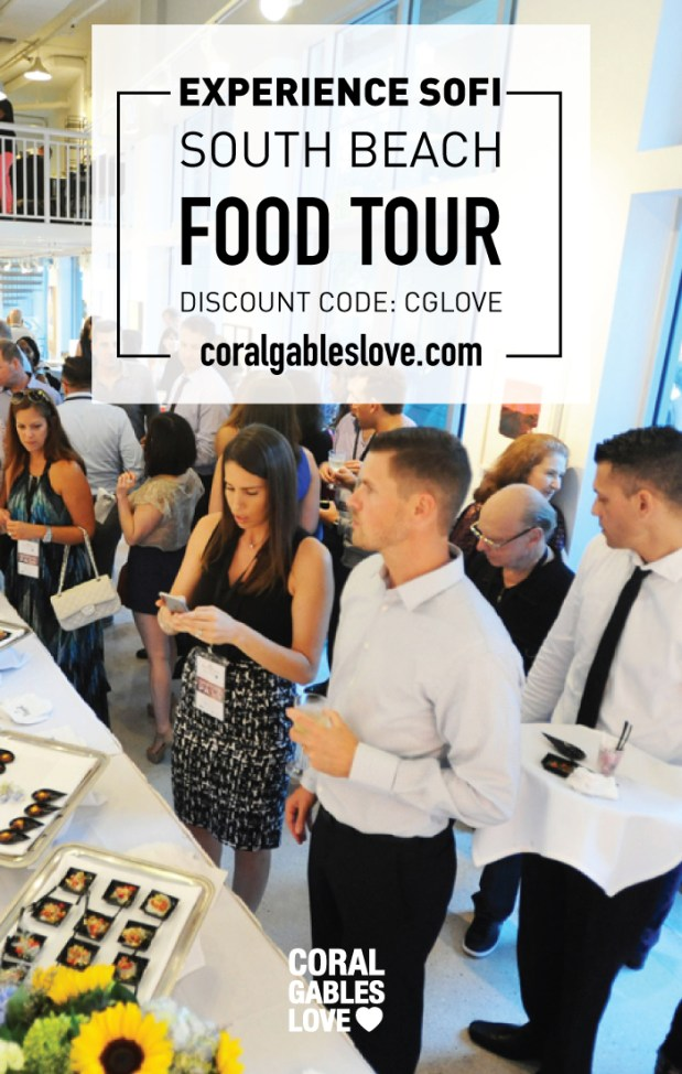 Experience SOFI South Beach Food Tour discount code. Formerly South of Spice.
