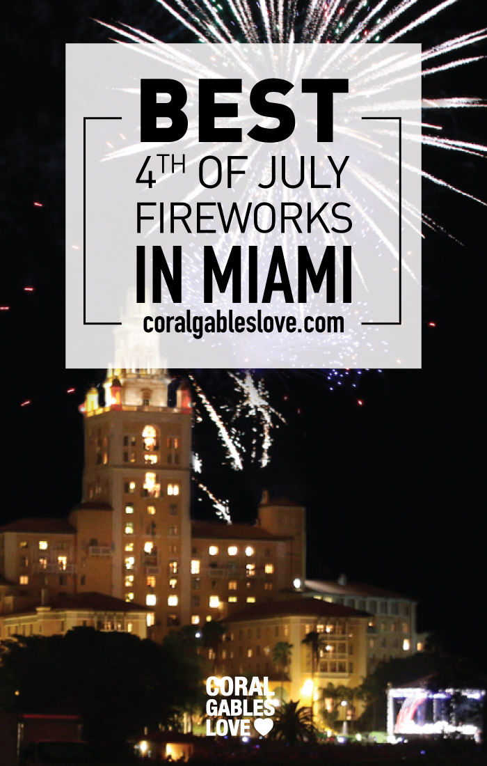 Best place for 4th of july fireworks in Miami