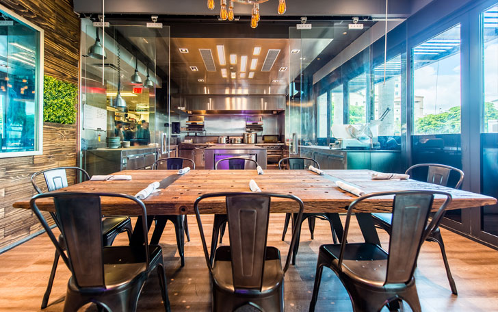 320 Gastrolounge restaurant in Coral Gables, FL. Miami dining