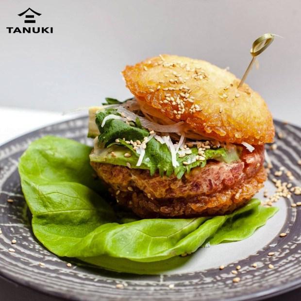 Tanuki Burger, Miami sushi restaurant located in South Beach