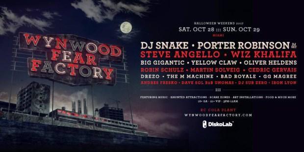 Wynwood Halloween Fear Factory