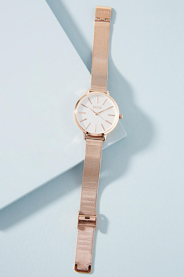Joule Rose Gold Metallic Watch