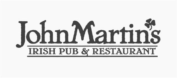 John Martins Irish Pub thanksgiving Menu 2017