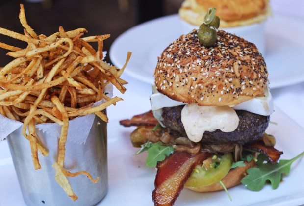 Best Burgers in Coral Gables: Le Burger from Le Provençal restaurant on Miracle Mile - Miami, Florida