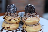 ROK:BRGR South Miami Saturday Brunch cookies and cream Belgium Waffles
