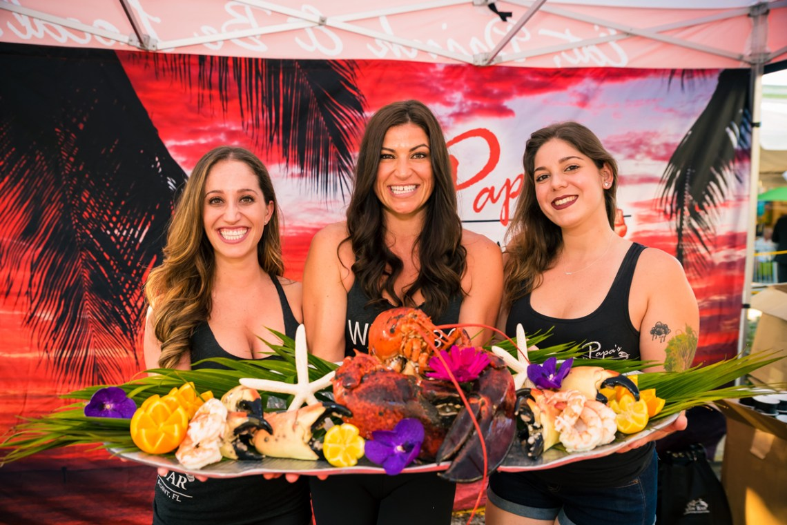 Use discount code CGLOVE for $15 off your Las Olas Wine and Food Festival tickets