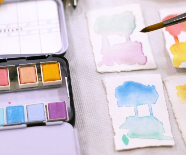 Watercolor Classes at Fairchild Tropical Botanic Gardens in Coral Gables, Florida - Miami
