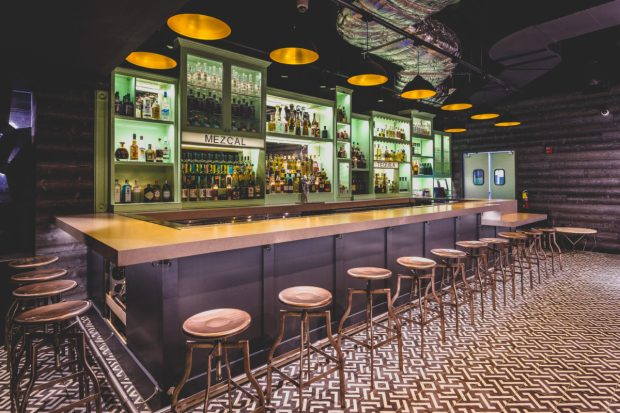 Coyo Taco Coral Gables location on Giralda Avenue - secret bar