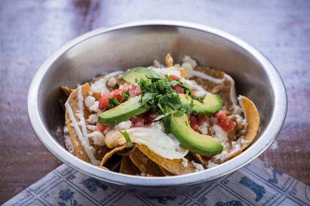 Coyo Taco Coral Gables location on Giralda Avenue brunch