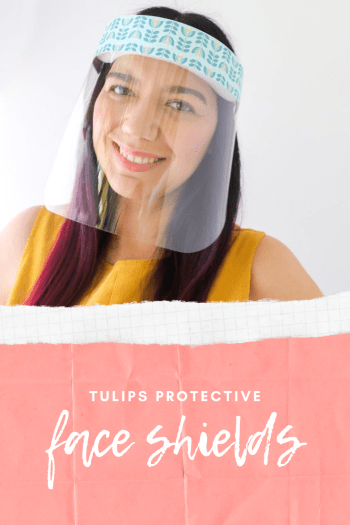 buy tulips Plastic Protective Face Shields In stock