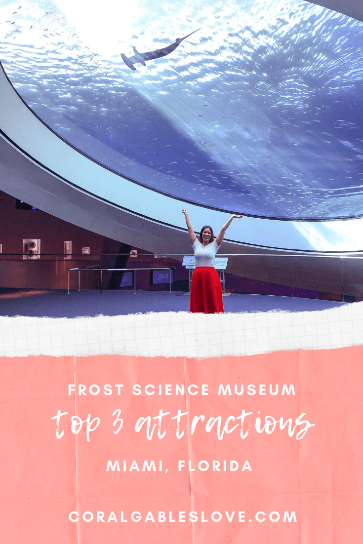 top attractions at frost science museum in miami - shark acquarium