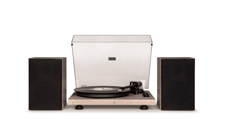 best gifts for him modern record player by crosley