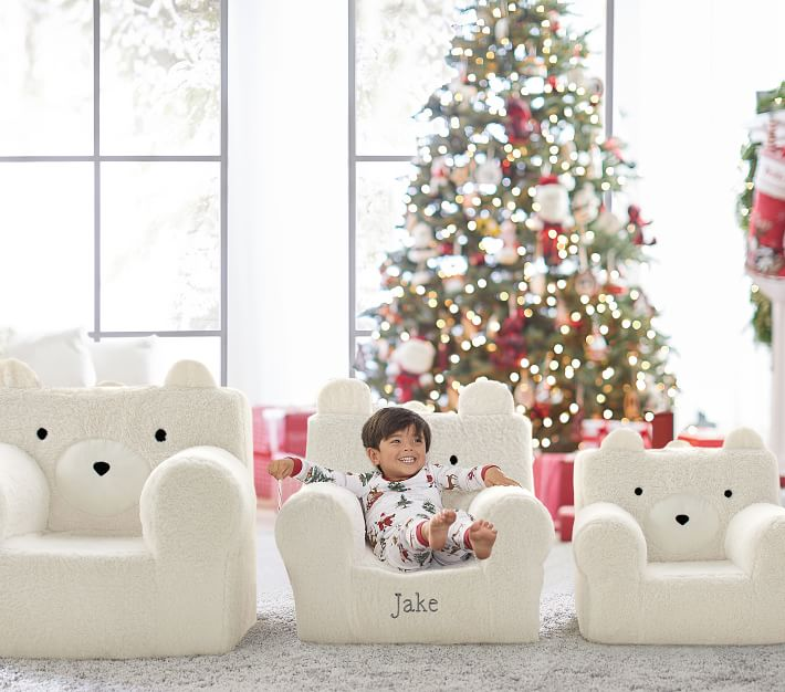 best gif for kids sherpa bear chair