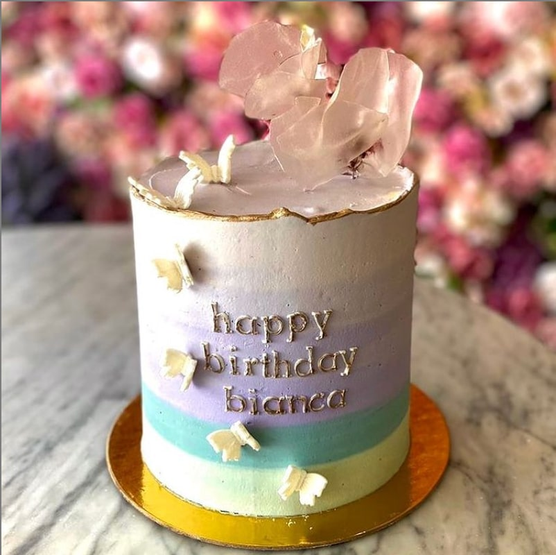 Lartisane Vegan Bakery Coral Gables birthday cake