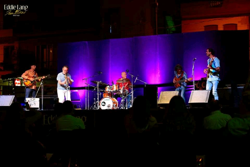 TJLT jamming with Trio Bobo @ Eddie Lang Jazz Festival, Monteroduni (IS) ITALY