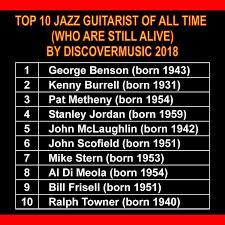 Discovermusic2018 The10Bestguitarists STANLEY JORDAN | Jazz, Blues, Rock (USA)