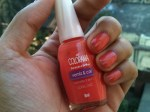 Maybelline Coloroma Nail Polish in Coral Chic; Review & Swatches