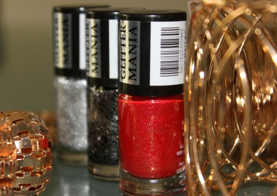 Maybelline Glitter Mania Polishes