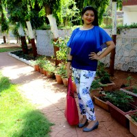 India Fashion Blogger Outfit Post
