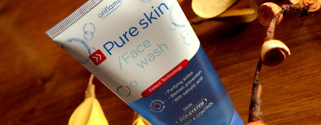Oriflame Pure Skin Face Wash Review