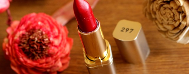 L'oreal's Color Riche Lipstick in Carmin St Germaine Review