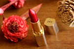 L'oreal's Color Riche Lipstick Carmin St Germain: Review Nd Swatches