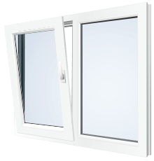 uPVC tilt and slide doors