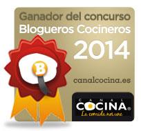 Ganador del concurso Blogueros Cocineros 2014