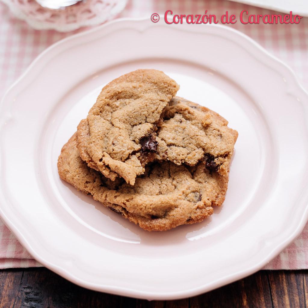 Cookies americanas | receta casera