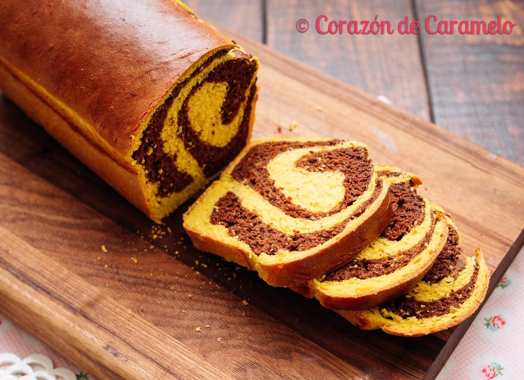 Pan de calabaza y chocolate Receta de otoño