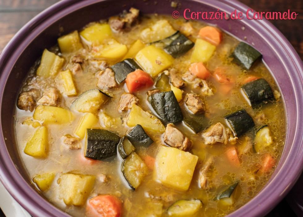 Cuscús de cordero y verduras- Receta marroquí