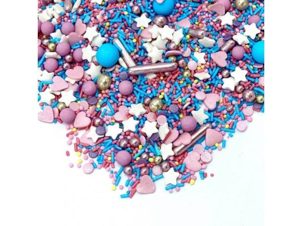 Sprinkles multicolor Cotton Candy 90g- Happy Sprinkles
