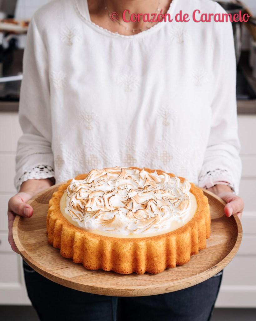 Tarta de limón y merengue | El blog cumple 7 años