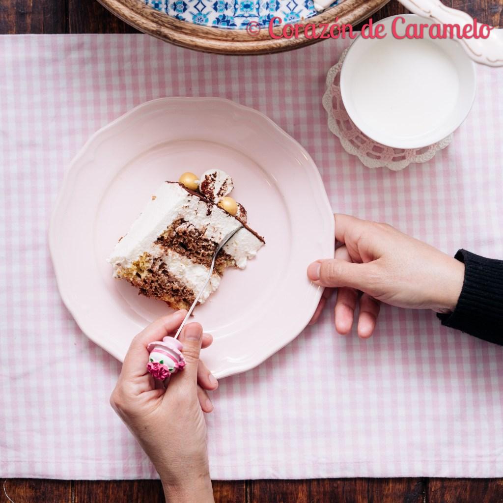 Tarta de tiramisú   Receta fácil