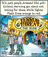 Terror Threat Level