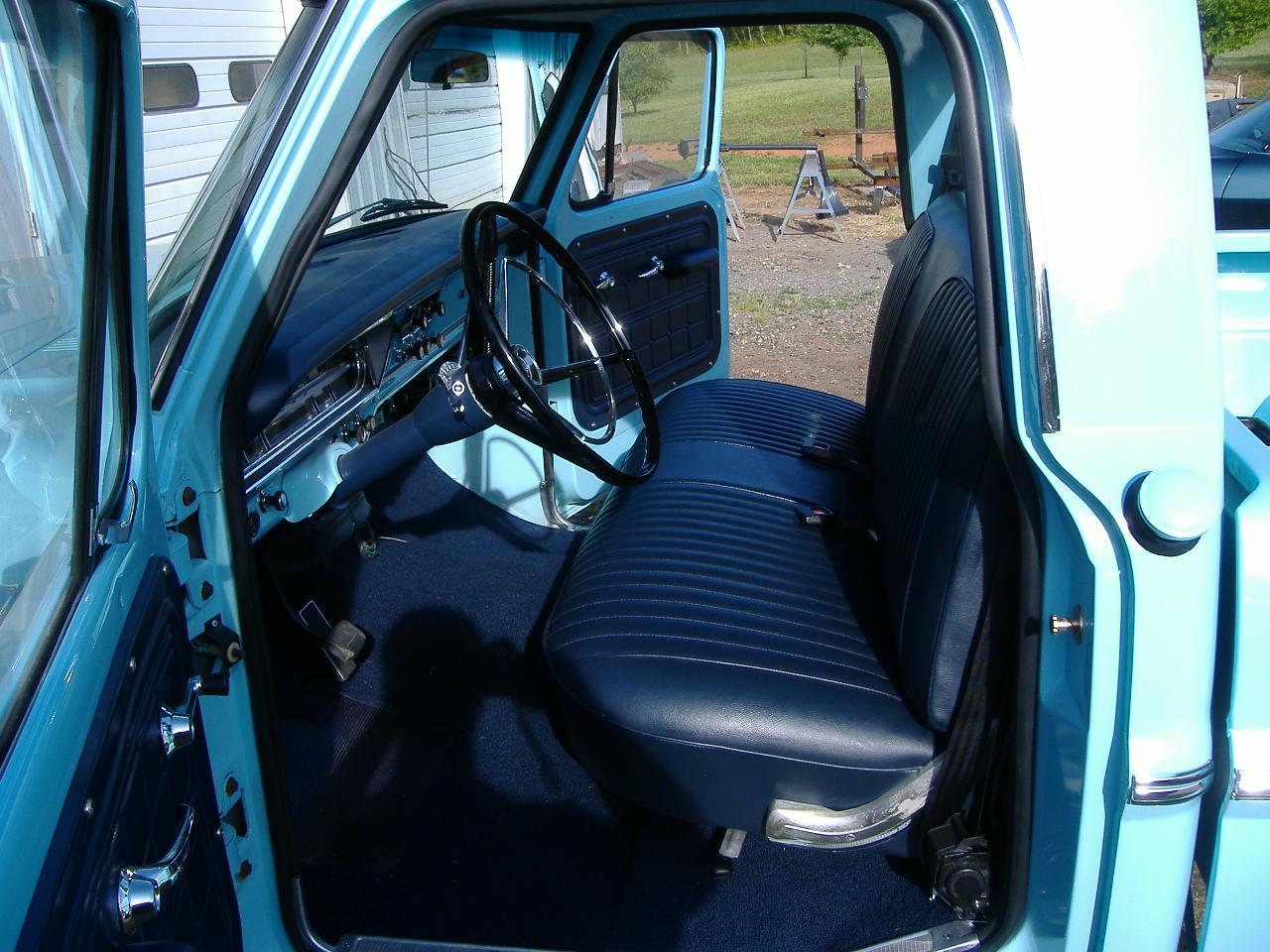1967 F100 Ford Interior Ranger