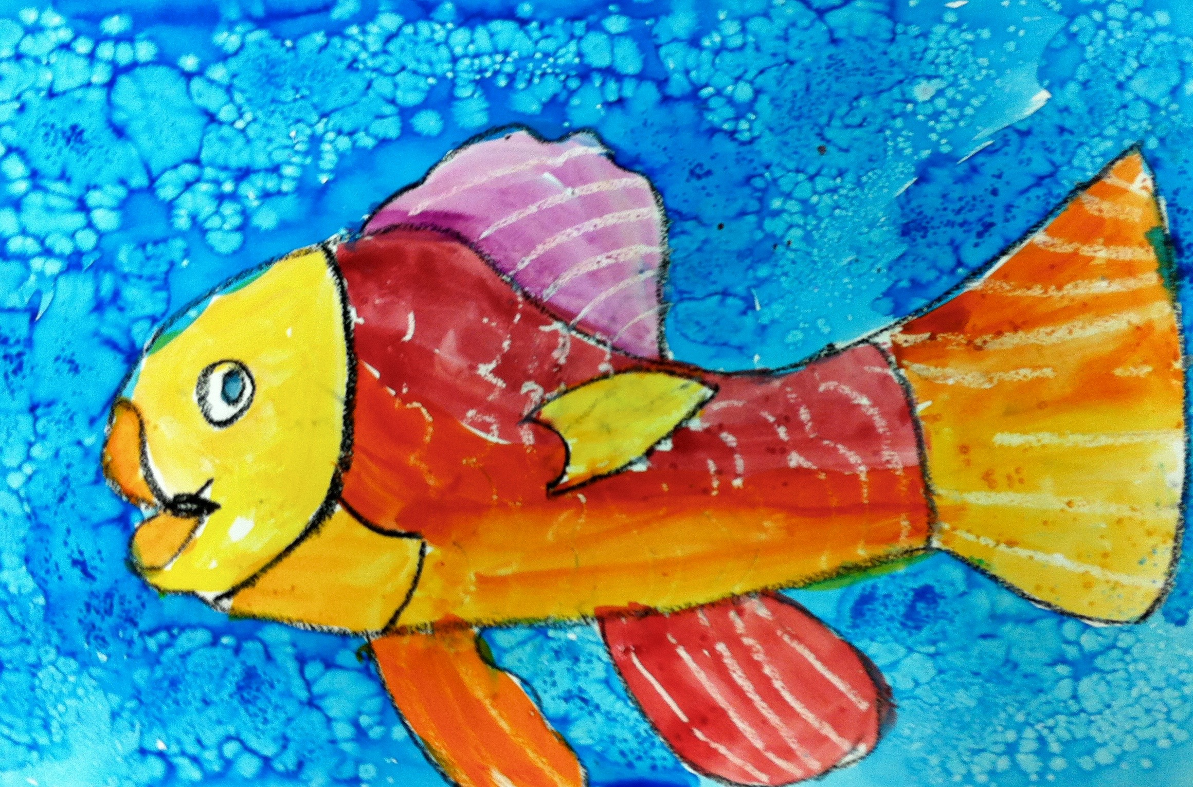 Colorful Fish • Corbie Arts