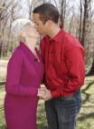 kissing, cougar relationship