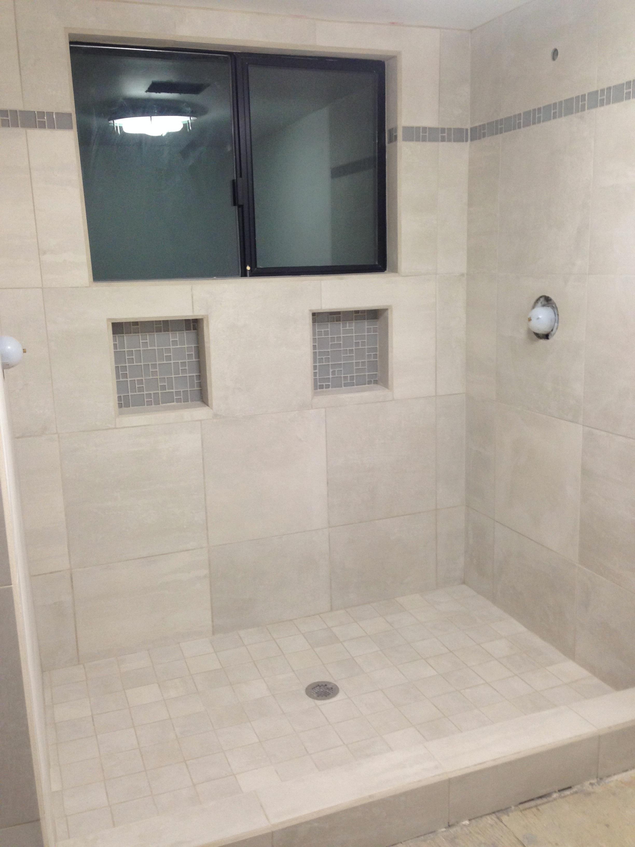 master bathroom remodel shower tile corbin s treehouse