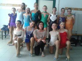 ASD Pattinaggio San Mariano: Chiara Merli, da atleta ad allenatrice 5