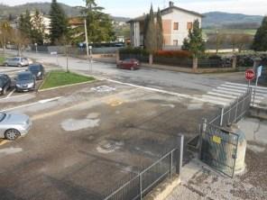 Corciano, le segnalazioni degli alunni riqualificano il parcheggio della scuola media Bonfigli 1