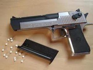 un'arma da soft air