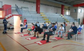 La Croce rossa alla Bonfigli insegna il primo soccorso 17