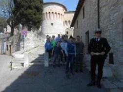 Gli agenti della Municipale salgono in cattedra alla Bonfigli 7