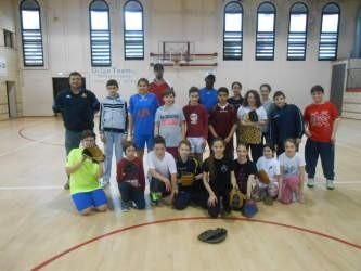 Gli studenti corcianesi praticano il Baseball grazie al progetto del gruppo sportivo 2